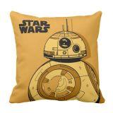 BB-8 Throw Pillow  Star Wars: The Force Awakens  Customizable