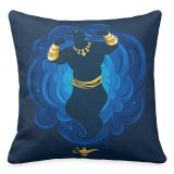 Genie Emerging from Lamp Throw Pillow  Aladdin  Live Action Film  Customized