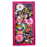 Mickey Mouse and Friends Floral Beach Towel by Vera Bradley | shopDisney