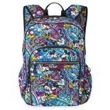 Mickey and Minnie Mouse Paisley Campus Backpack by Vera Bradley   shopDisney