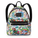 Disney Parks Collage Mini Backpack by Loungefly   shopDisney