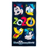 Mickey Mouse and Friends Beach Towel  Walt Disney World 2020