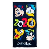 Mickey Mouse and Friends Beach Towel  Disneyland 2020