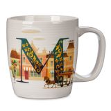 Disney Parks ABC Mug  M  Walt Disney World