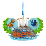 The Seas with Nemo & Friends Ear Hat Ornament  Epcot
