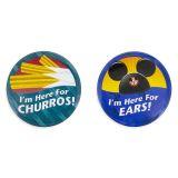 Disney Parks Im Here for ... Ears! Button Set | shopDisney