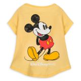 Mickey Mouse Classic T-Shirt for Dogs  Disney Tails  Walt Disney World