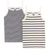 Pack of two tops with spaghetti straps