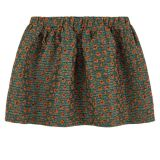 Jacquard knit skirt with lurex