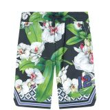 Mini Me printed bermudas Hawaii