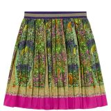 Pleated silk skirt Canvas Menagerie