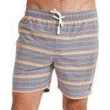 Striped Swim Trunk - Mens