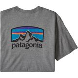 Fitz Roy Horizons Short-Sleeve Responsibili-T-Shirt - Mens