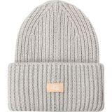 Rib Knit Cuff Hat - Womens