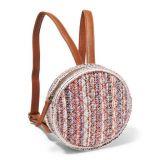 Tweed Circle Backpack