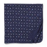 Bear and Tree Print Swaddle Blanket