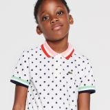 Lacoste Girls' Polka Dot Polo Dress
