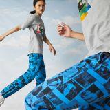 Lacoste Unisex LIVE Polaroid Collaboration Loose Fit Cotton T-shirt