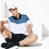 Lacoste Mens SPORT Breathable Pique Tennis Polo