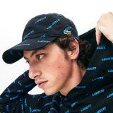 Lacoste Mens LIVE Camouflage Cap