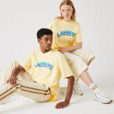 Lacoste Unisex LIVE Loose Fit Lettered T-shirt