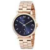 Marc by Marc Jacobs Womens MBM3330 Baker Rose Gold-Tone Stainless Steel Watch with Link Bracelet