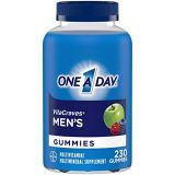One A Day Men's Multivitamin Gummies, Supplement with Vitamin A, Vitamin C, Vitamin D, Vitmain E, Calcium & more, 230 count