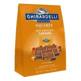 Ghirardelli Milk and Caramel Squares XL Bag, Milk Chocolate Caramel, 15.96 Oz