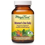 MegaFood, Womens One Daily, Daily Multivitamin and Mineral Dietary Supplement with Vitamins C, D, Folate and Iron, Non-GMO, Vegetarian, 36 Tablets