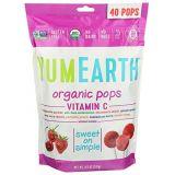 YummyEarth YumEarth, Organic Vitamin C Lollipops 40 lollipops per Pack, 8.5 oz