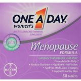 One A Day Womens Menopause Multivitamin with Vitamin A, Vitamin C, Vitamin D, Vitamin E and Zinc for Immune Health Support*, Biotin, B6, B12, & Soybean Isoflavones to Reduce Hot Fl