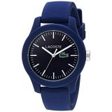 Lacoste Womens Ladies 12.12 Quartz Resin and Silicone Watch, Color:Blue (Model: 2000955)