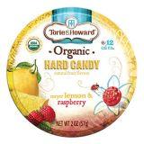 Torie & Howard Torie and Howard Organic Hard Candy Lemon and Raspberry, 2 Ounce