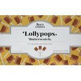 Sees Candies 1 lb. 5 oz. Butterscotch Lollypops