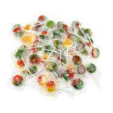 Sunny Island Tiger Pops, Assorted Fruit Flavor Lollipops Hard Candy, 2 Pounds Bag