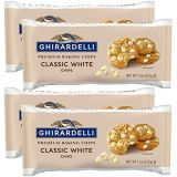 Ghirardelli Classic White Chocolate Chip, 11 oz (Pack of 4)