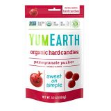 YumEarth Organic Pomegranate Hard Candy, 3.3 Ounce (Pack of 6)