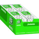 Tic Tac Fresh Breath Mints, Freshmint, Bulk Hard Candy Mints, 1 oz Singles, 12 Count, Perfect Easter Basket Stuffers for Boys and Girls