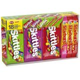 SKITTLES & STARBURST Candy Full Size Variety Mix 37.05-Ounce 18-Count Box