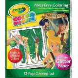 Crayola Color Wonder Glitter Paper Fairies