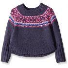 Pumpkin Patch Little Girls Fairisle Knit Jumper