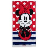 Disney Minnie Mouse Polka Dot Beach Towel - Personalizable