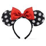 Disney Minnie Mouse Ear Headband - Black and White