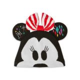 Disney Minnie Mouse Light-Up Knit Holiday Ear Hat for Kids