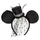 Disney Jack Skellington Ear Headband - Tim Burtons The Nightmare Before Christmas