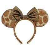 Minnie Mouse Animal Print Ear Headband - Disneys Animal Kingdom