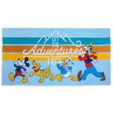 Disney Mickey Mouse and Friends Beach Towel - Personalizable