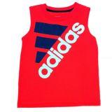 Adidas adidas Toddler & Little Boys Red Sleeveless Athletic Shirt