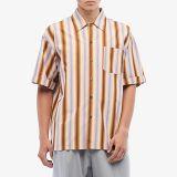 Degrade Stripe Short Sleeve Shirt