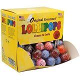 Original Gourmet Change Maker Mini Cream Swirl and Original Lollipops, 100 Count (Pack of 1)